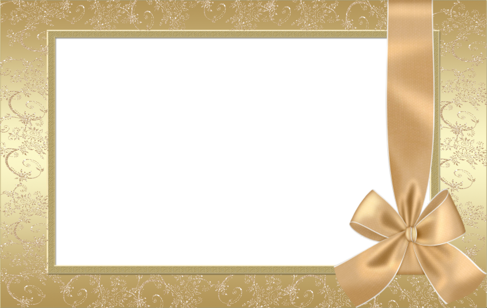 Large_Gold_Transparent_Frame_With_Gold_Bow
